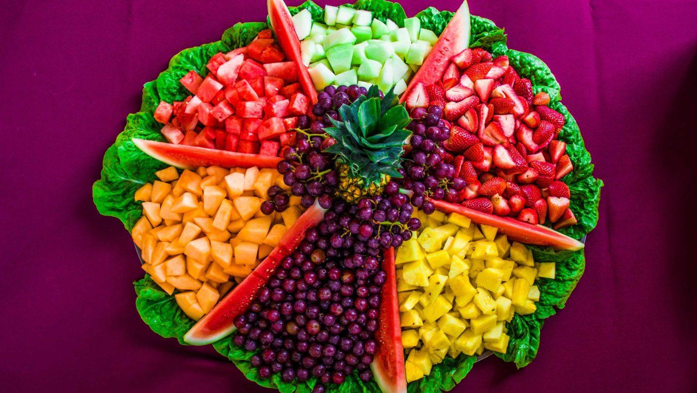 A fruit platter.